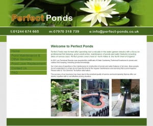 Perfect Ponds