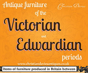Antique furniture of the Victorian and Edwardian periods