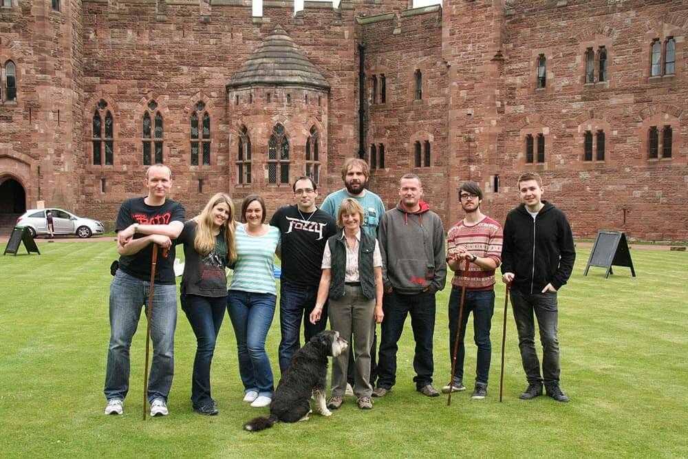 Team Building Day at Peckforton Castle