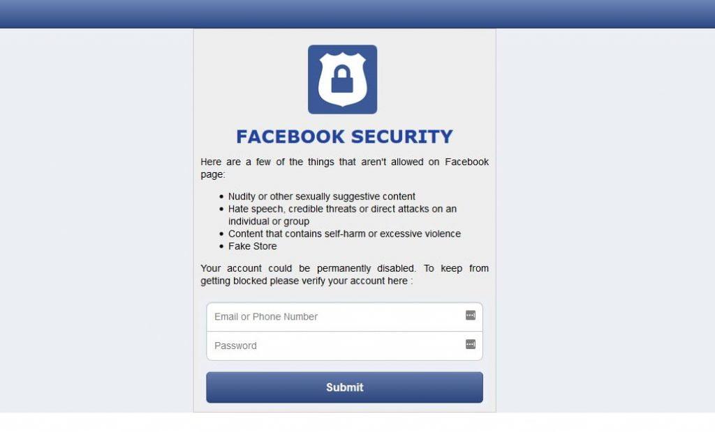 scam-login-page