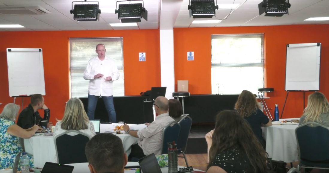 Darren Jamieson teaching Facebook Ads