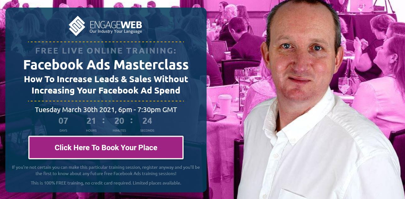 Join our FREE Facebook Ads Training