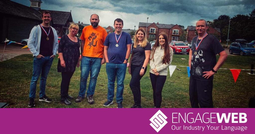 Building on the Welsh Border: Engage Web Team Building Day 2021